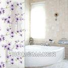 韓國彩繪自黏窗貼(藍紫梅花)_HN-LGS02B