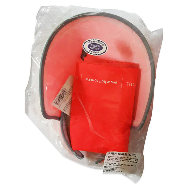 SUNSOUL/HOII/后益-新光感/防曬光能布 UPF50+ 伸縮豔陽帽 伸縮艷陽帽/紅色  PG美妝