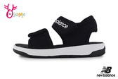 New Balance 中童 涼鞋 時尚潮流穿搭 運動涼鞋 爆款韓版 韓國製 O8550#黑色◆OSOME奧森鞋業