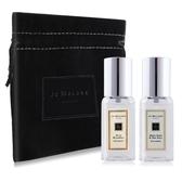 Jo Malone 2入香水(9ml)藍風鈴+青檸羅勒送品牌珠寶袋