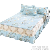 床包席夢思床罩床裙式床套單件防塵保護套1.5米1.8m床單床墊床笠防滑 簡而美