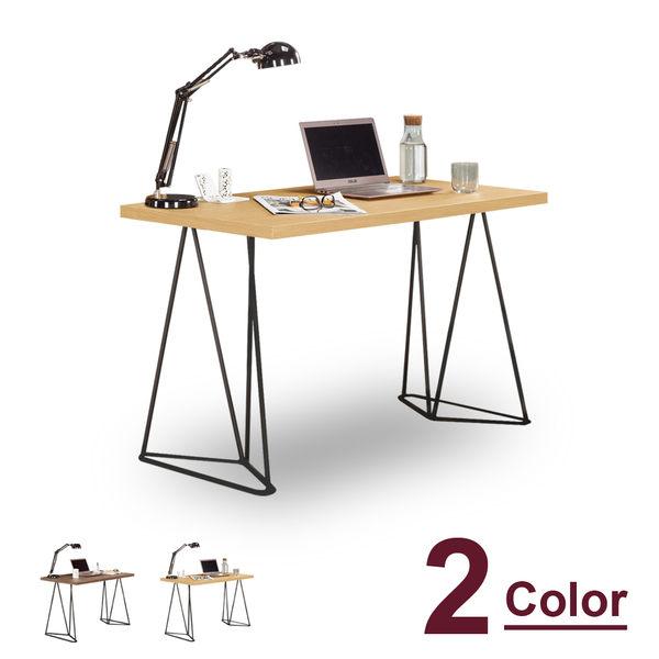 書桌【時尚屋】[C7]諾艾爾4尺書桌C7-867-2兩色可選/免運費/免組裝/書桌