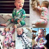 嬰兒連身衣春秋新生幼兒包屁衣服純棉男女寶寶爬爬服【奇趣小屋】