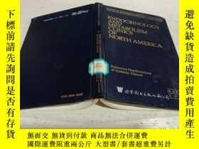 二手書博民逛書店ENDOCRINOLOGY罕見AND METABOLISM CLINICS OF NORTH AMERICA(北美