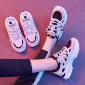 運動女鞋2020年春夏季新款百搭ins網面透氣小白老爹休閒網鞋潮女 童趣屋