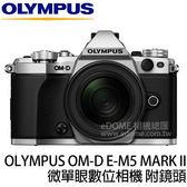 OLYMPUS OM-D E-M5 Mark II 附12-40mm 銀色 贈64G (24期0利率 免運 元佑公司貨) E-M52 E-M5M2 KIT