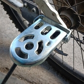 自行車後腳踏板折疊配件壹對腳蹬腳柱通用【英賽德3C數碼館】
