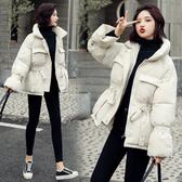 外套 2019年新款冬季外套女面包棉服爆款韓版寬鬆羽絨棉衣短款INS棉襖 快速出貨