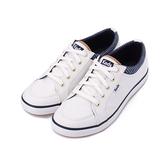 KEDS CENTER STRIPE 條紋綁帶休閒鞋 白 9201W112925 女鞋 平底
