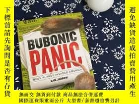 二手書博民逛書店BUBONIC罕見PANIC WHEN PLAGUE INVAD