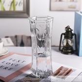 花瓶擺件客廳插花簡約居家用大號插百合富貴竹水培干花透明玻璃瓶  中秋佳節 YTL