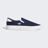 Adidas Court Rallye Slip [FY4552] 男女鞋 運動休閒 愛迪達 輕便 簡約 穿搭 藍 白
