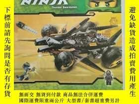 二手書博民逛書店9759罕見NINJA Thunder Swordsman(忍者雷霆劍客玩具說明書 英文原版)Y11897 N