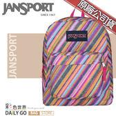 JANSPORT後背包包大容量JS-43501-0JW彩色蠟筆