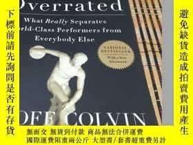 二手書博民逛書店Talent罕見Is Overrated: What Really Separates World-Class P