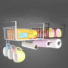 【GK480】書桌掛架 置物掛架.廚櫃置物籃 碗盤收納架 紙巾置物架 隔板掛籃 EZGO商城