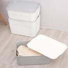 收納籃 收納箱衣服整理箱塑料籃衣柜儲物盒家用盒子零食收納筐雜物儲物箱【快速出貨八折鉅惠】