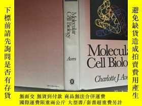 二手書博民逛書店Molecular罕見Cell Biology 分子細胞生物學