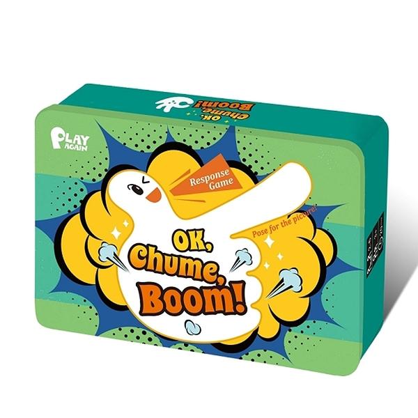 【小康軒多元學習教具】PIAY AGAIN-OK,啾咪,砰! OK, Chume, Boom! 6900000116