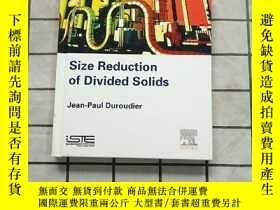 二手書博民逛書店Size罕見Reduction of Divided Solids 進口原版 Y268220 Duroudie