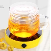 加熱杯墊 恒溫寶加熱杯墊茶壺保溫底座茶杯加熱器溫茶器玻璃杯保溫【快速出貨八折下殺】