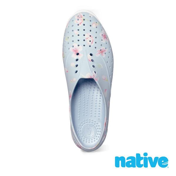 native JERICHO PRINT 女鞋-粉藍雪