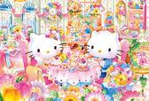 【拼圖總動員 PUZZLE STORY】下午茶 日本進口拼圖/Beverly/Hello Kitty/1000P