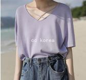 韓國製 透氣交叉冰絲針織衫 CC KOREA ~ Q16618 韓妮 心田