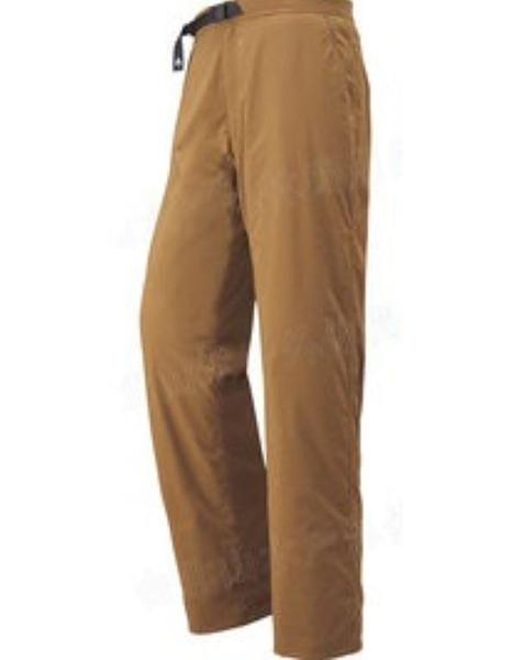 [好也戶外]mont‧bell OD Lining Pants 男款薄刷毛長褲 No.1105437-GM/CAME