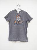 【Abercrombie & Fitch】男款短袖純棉T恤 - 灰/M