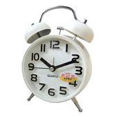 糖果色 復古立體數字圓型雙鈴鬧鐘(中) SV-1307-W