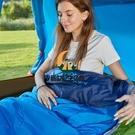 成人戶外旅行可拼接保暖室內露營單人隔臟棉睡袋【創世紀生活館】