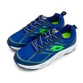 LIKA 夢LOTTO  風動輕量慢跑鞋SPEED RIDE 系列藍綠6636 男