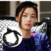 UNICO 韓國正品 【來自星星的你】千頌伊 黑色網紗髮帶 圓點兔耳/髮飾