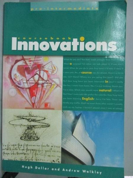 【書寶二手書T5/語言學習_XEJ】Innovation Pre Intermediate Student Book_H