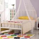 床架 床台 鐵床 AM-79-1 約瑟夫簡約舒適3.5尺白色鐵床床檯 (不含床墊) 【大眾家居舘】