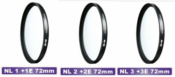 B+w F-Pro Close-up NL1+1E NL2+2E NL3+3E NL4+4E NL5+5E 近攝鏡 微距 72mm