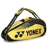 2019新款雙肩背尤尼克斯YONEX單肩背6-9只裝加大加厚耐磨羽毛球包