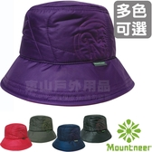 Mountneer 12H06_多色可選 中性款戶外保暖漁夫帽 罩帽/小圓帽/登山遮陽帽/防風防寒帽 台灣製