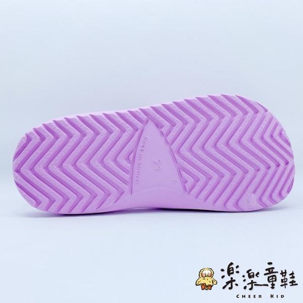 【樂樂童鞋】台灣製蘇菲亞小公主拖鞋 F057 - 女童鞋 拖鞋 大童鞋 兒童拖鞋 現貨 沙灘鞋 室內鞋 MIT