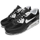 Nike 復古慢跑鞋 Air Max 90 Essential 黑 白 休閒鞋 百搭款 黑白 運動鞋 男鞋【PUMP306】 537384-089