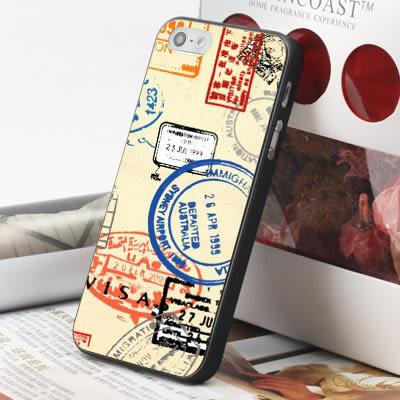 [文創客製化] iPhone 7 Plus i7 i7plus 6 6S i6 Plus iphone6S i6S 手機殼 095 世界郵戳