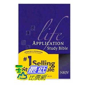 [104美國直購] Life Application Study Bible NKJV