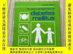 二手書博民逛書店Nursing罕見management of diabetes