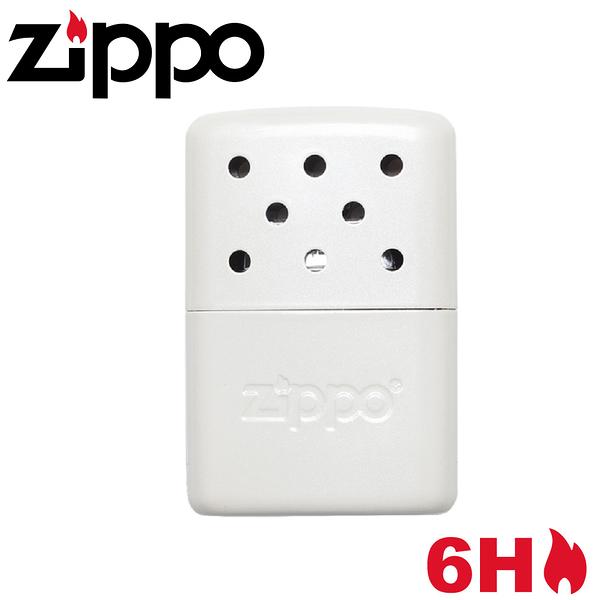 【ZIPPO 美國 暖手爐 懷爐(小)《珍珠白》】40452/暖爐/暖暖石/暖蛋/暖爐/暖暖包