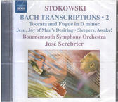 【正版全新CD清倉 4.5折】Stokowski: Bach Transcriptions, Vol. 2