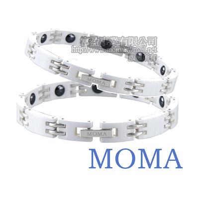 【MOMA】陶瓷鍺磁手鍊-M67對鍊-情人對鍊