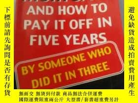 二手書博民逛書店your罕見mortgage and how to pay it