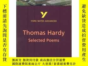二手書博民逛書店York罕見Notes on The Selected Poem