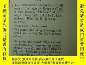 二手書博民逛書店1916年罕見著名藏書傢俱樂部格羅裏埃舉辦的《Thomas Ro